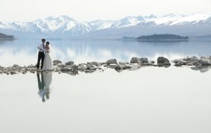 Reflections on Lake Tekapo