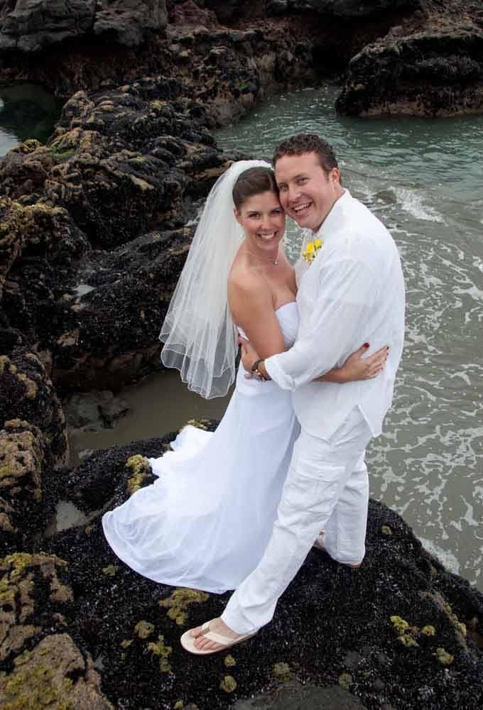 Christchurch Beach Wedding