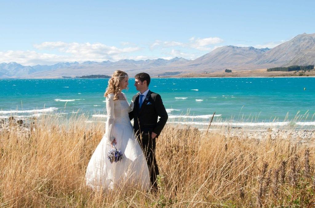 Lake Tekapo wedding package in New Zealand