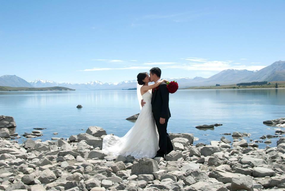 Lake Tekapo weddings in New Zealand