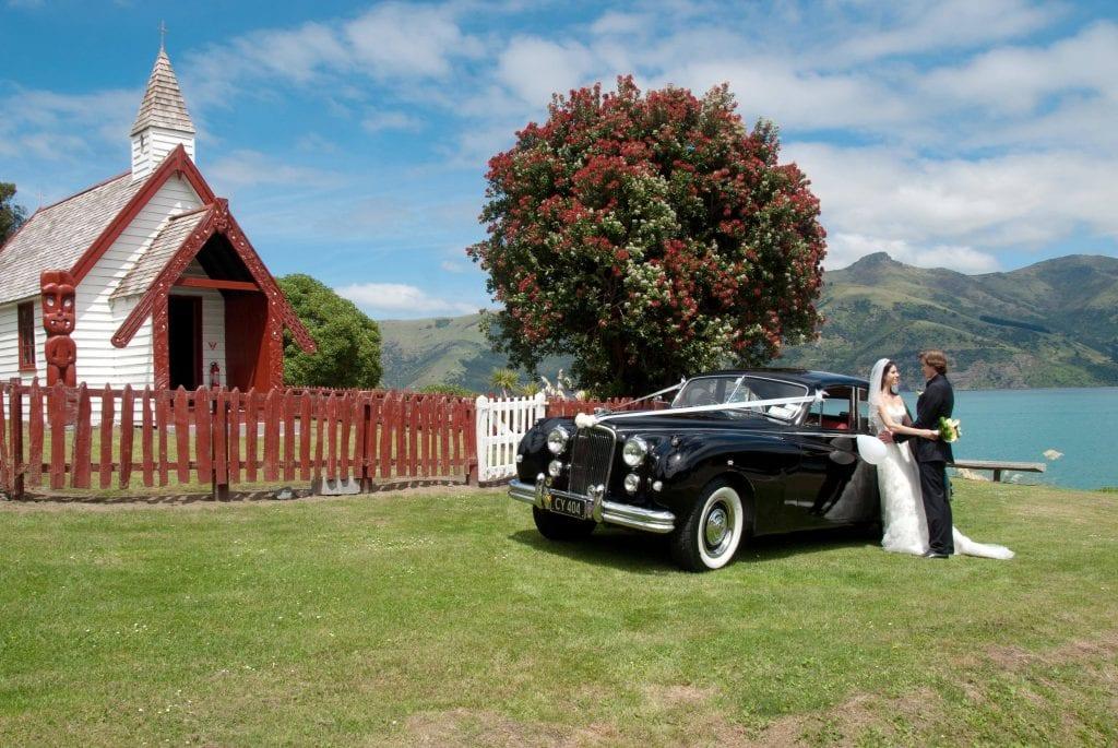 Onuku Church Wedding in Akaroa