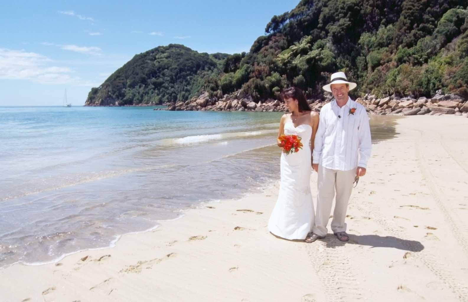 Abel Tasman Wedding