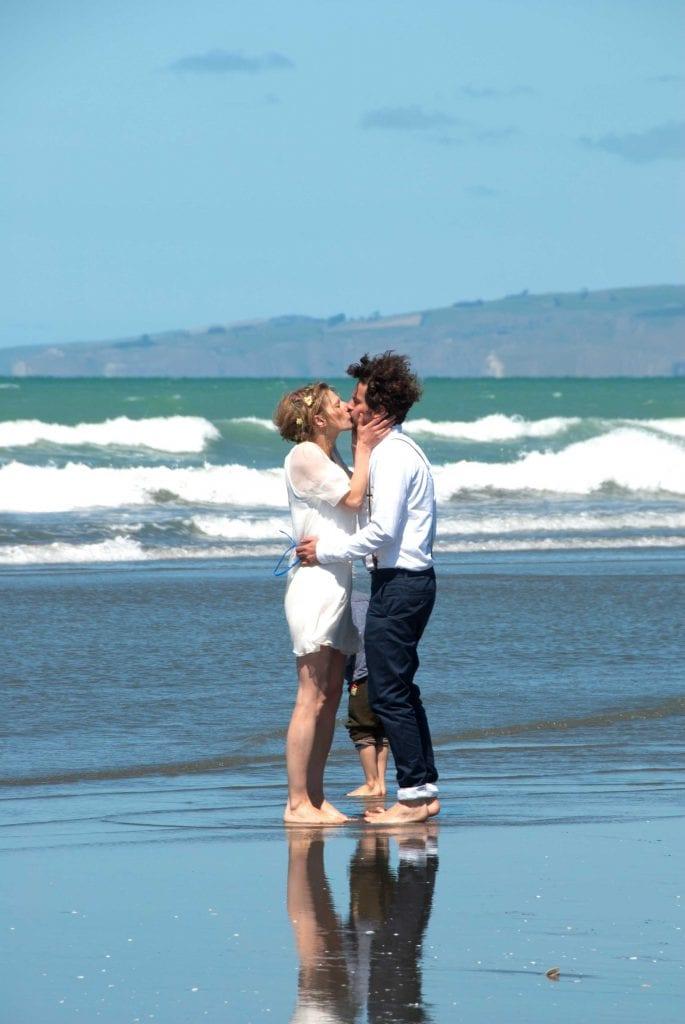 Beach Wedding in New Zealand