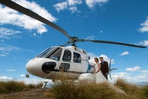 New Zealand Wanaka Heli Wedding