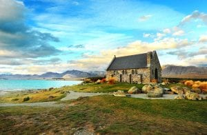 Church of the Good Shepherd in Lake Tekapo wedding venue