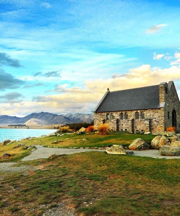 Church of the Good Shepherd in Lake Tekapo wedding venue