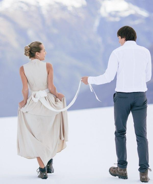 Wanaka Mountaintop Wedding and Wedding Night
