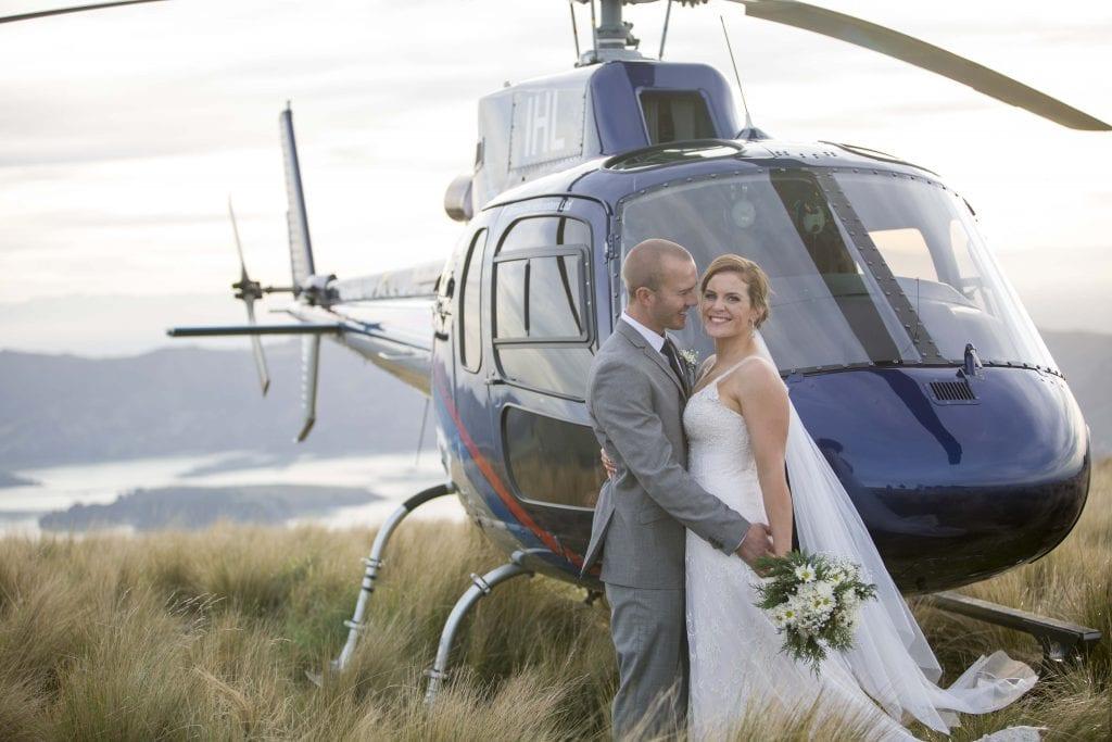 Christchurch Heli Wedding
