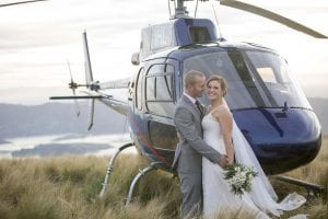 Christchurch Heli Wedding