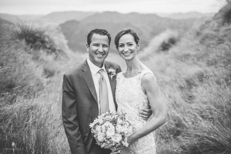 Real Wedding - Michelle married Fred on Coromandel Peak