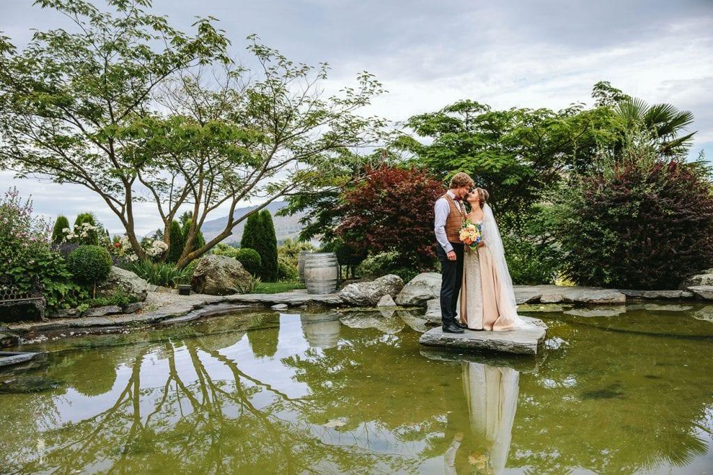 Asya and Sergey's Queenstown church wedding