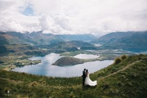 Stephanie and Salvatore's intimate wedding on Coromandel Peak, Wanaka