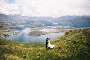 Stephanie and Salvatore's intimate wedding on Coromandel Peak, Wanaka